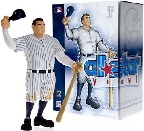 MLB New York Yankees All Star Vinyl Babe Ruth Vinyl Figure [White Pinstripes Jersey]