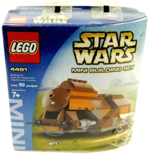 LEGO Star Wars Phantom Menace Mini Building Sets MTT Trade Federation Set #4491 [New]