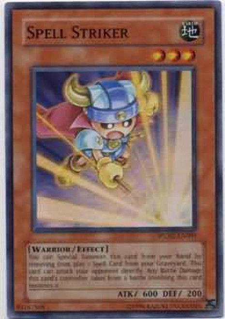 YuGiOh GX Trading Card Game Ultimate Masters Super Rare Spell Striker WC07-EN001