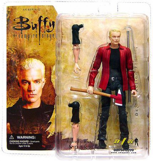 Buffy The Vampire Slayer Spike Exclusive Action Figure [School Hard]