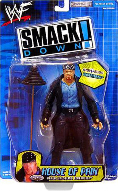 WWE Wrestling Smackdown House of Pain Undertaker Action Figure