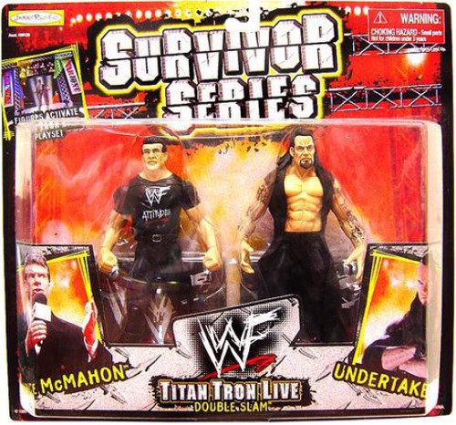 WWE Wrestling Survivor Series Vince McMahon Vs. Undertaker Action Figure 2-Pack
