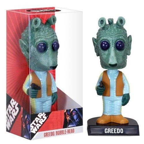 Funko Star Wars Wacky Wobbler Greedo Bobble Head