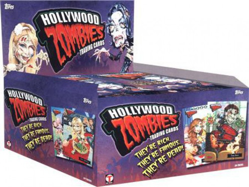 Topps Hollywood Zombies Series 1 Trading Card Box