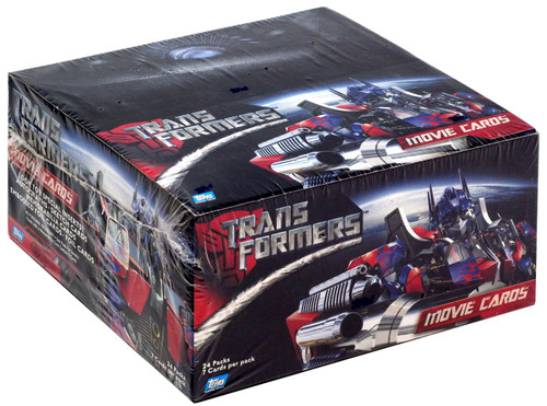 Topps Transformers Movie Trading Card Box [24 Packs]