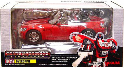 Transformers Japanese Binaltech Honda S2000 Overdrive Action Figure BT-12