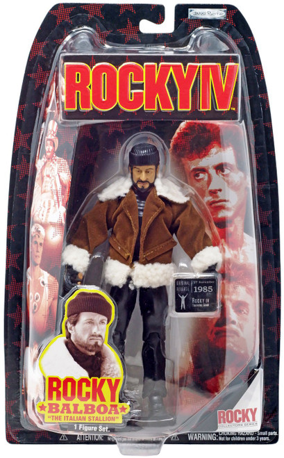 Rocky IV Series 4 Rocky Balboa Action Figure [Training]