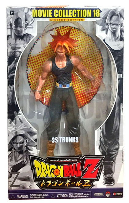 Dragon Ball Z Series 18 Movie Collection SS Trunks Action Figure