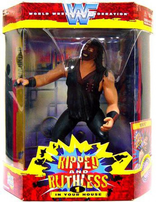 WWE Wrestling Ripped and Ruthless Series 1 Mankind Action Figure