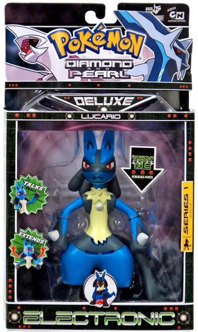 Pokemon Diamond & Pearl Deluxe Electronic Series 1 Lucario Action Figure