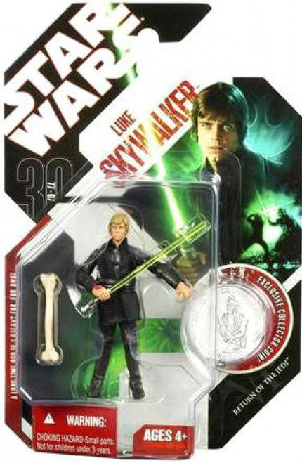 Star Wars Return of the Jedi 30th Anniversary 2007 Wave 4 Luke Skywalker Action Figure #25 [Jedi Knight]