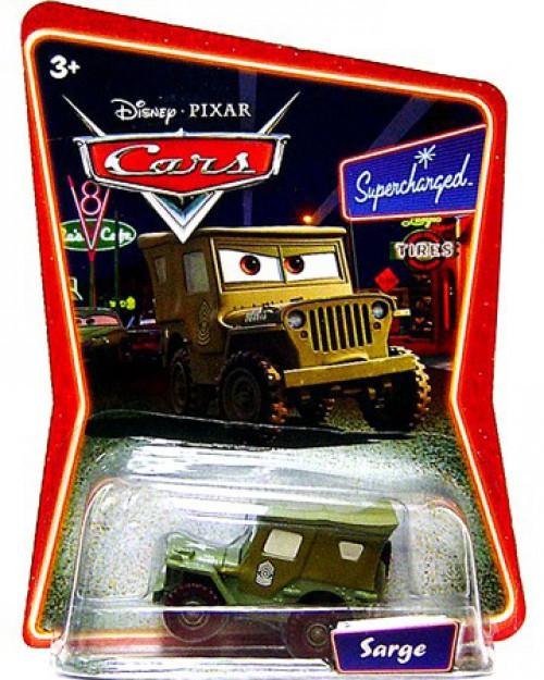 Disney / Pixar Cars Supercharged Sarge Diecast Car