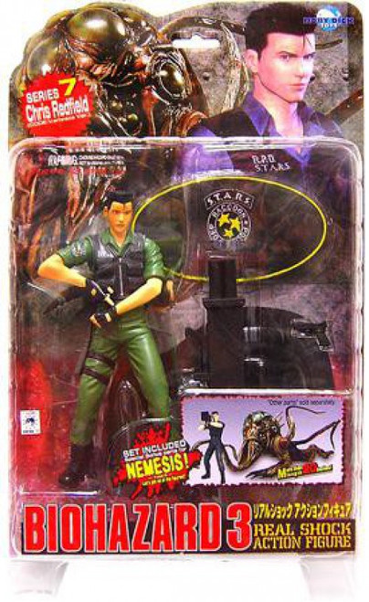 Resident Evil Biohazard 3 Series 7 Chris Redfield Action Figure