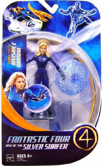 Marvel Fantastic Four Rise of the Silver Surfer Series 1 Invisible Woman Action Figure [Force Field]