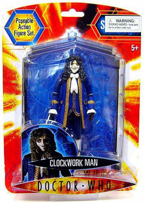 Doctor Who Underground Toys Series 2 Clockwork Man Action Figure [Blue]