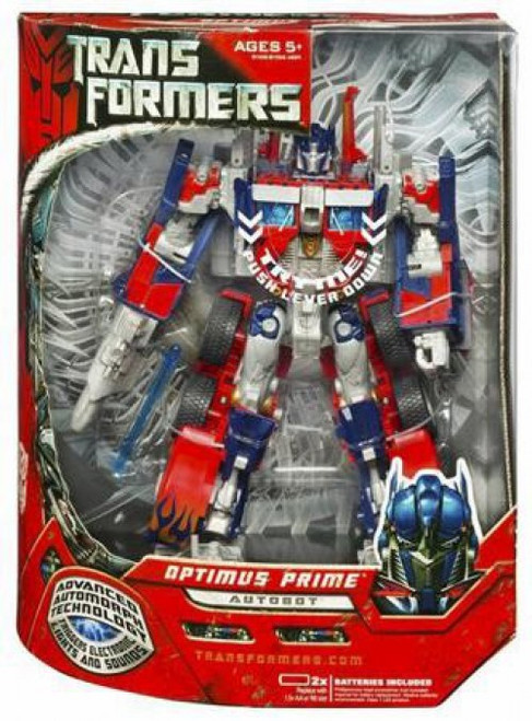 Transformers Movie Leader Optimus Prime Leader Action Figure [New]