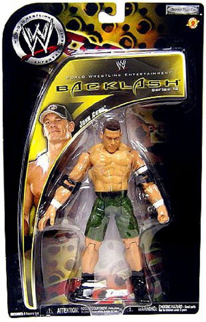 WWE Wrestling Backlash Series 10 John Cena Action Figure
