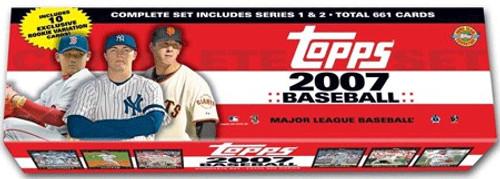 MLB Topps 2007 Baseball Trading Card Set [Holiday Edition, 661 Cards]