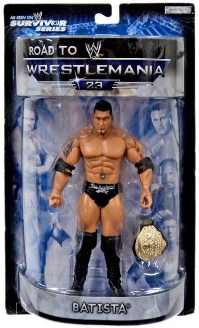 WWE Wrestling Road to WrestleMania 23 Series 2 Batista Exclusive Action Figure