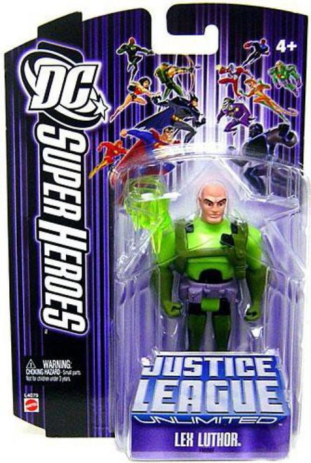 DC Justice League Unlimited Super Heroes Lex Luthor Action Figure [Purple Card]