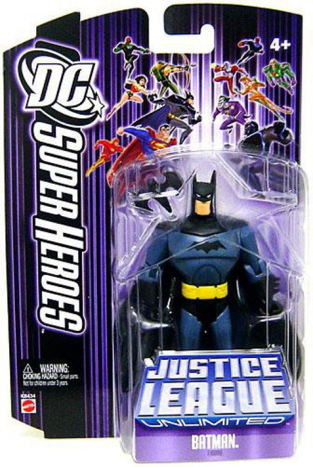 DC Justice League Unlimited Super Heroes Batman Action Figure [Purple Card]