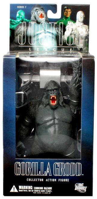 DC Alex Ross Justice League Series 7 Gorilla Grodd Action Figure