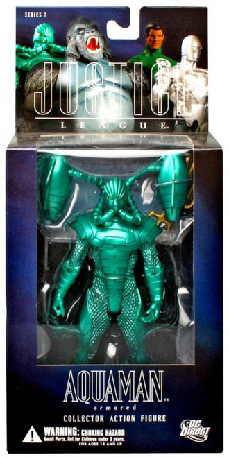 DC Alex Ross Justice League Series 7 Armored Aquaman Action Figure