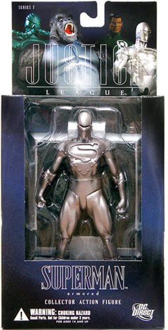 DC Alex Ross Justice League Series 7 Armored Superman Action Figure