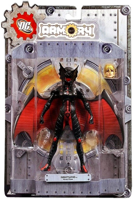 DC Armory Series 1 Nightwing Action Figure [Power Girl]