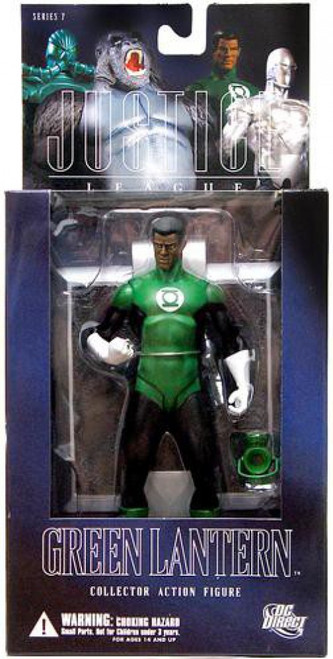 DC Alex Ross Justice League Series 7 John Stewart Green Lantern Action Figure