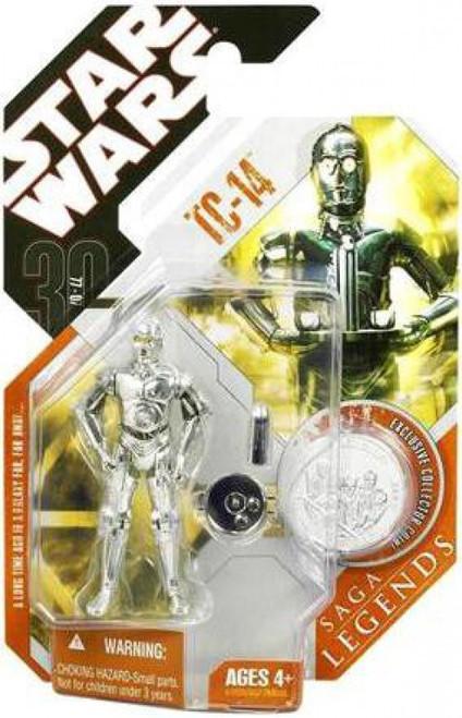 Star Wars Phantom Menace 2007 Saga Legends (30th Anniversary) TC-14 Action Figure #29