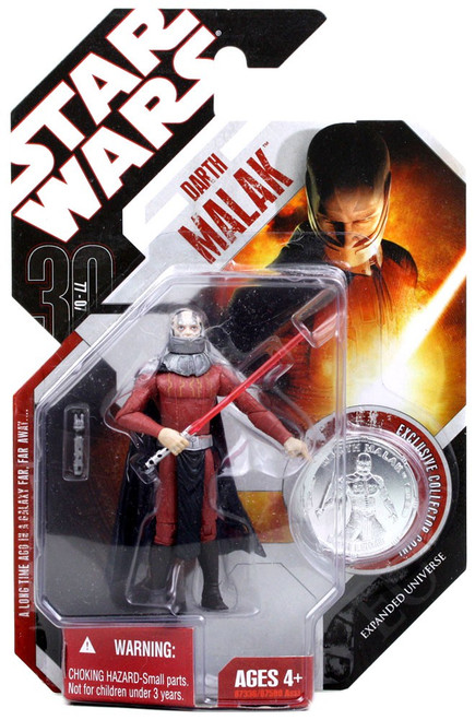 Star Wars Expanded Universe 30th Anniversary 2007 Wave 5 Darth Malak Action Figure #35