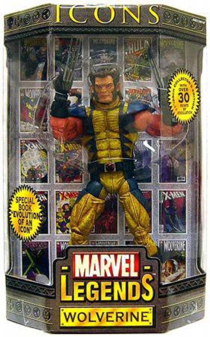 Icons Marvel Legends Wolverine Deluxe Action Figure [Mask Down Variant]