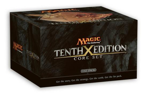 MtG Trading Card Game Tenth Edition FAT Pack [Includes 8 Booster Packs]