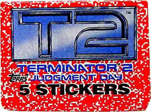 Terminator 2 Judgment Day Sticker Pack