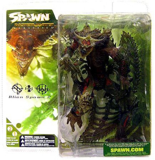 McFarlane Toys Series 21 Alternate Realities Alien Spawn Action Figure