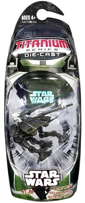 Star Wars The Clone Wars Titanium Series 2006 AT-AP Diecast Vehicle