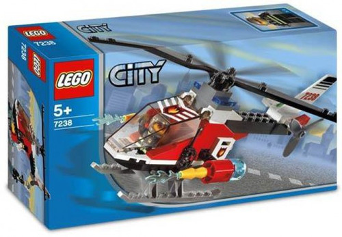 LEGO City Fire Helicopter Set #7238