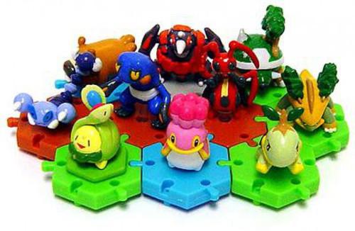 Pokemon Japanese Series 1 Set of 10 Connecting PVC Figures