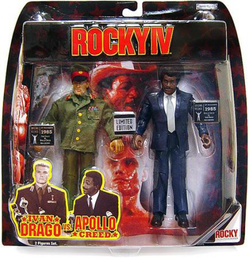Rocky IV Ivan Drago & Apollo Creed Exclusive Action Figure 2-Pack