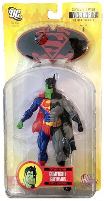 Superman Batman Series 5 Vengeance 2 Composite Superman Action Figure