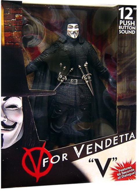 NECA V for Vendetta V Deluxe Action Figure