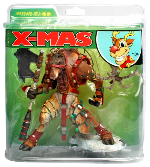 McFarlane Toys McFarlane's Monsters X-Mas Reindeer Rudy Action Figure