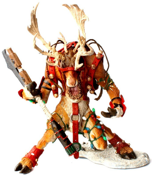 McFarlane Toys McFarlane's Monsters X-Mas Reindeer Rudy Action Figure