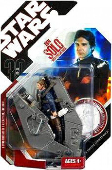 Star Wars The Empire Strikes Back 2007 30th Anniversary Wave 6 Han Solo with Bespin Torture Rack Action Figure #38