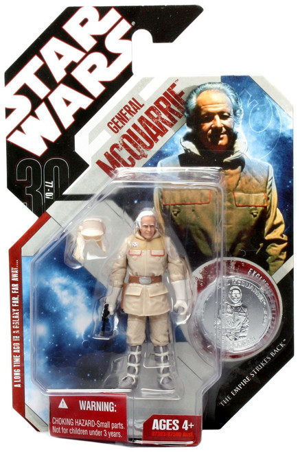 Star Wars The Empire Strikes Back 30th Anniversary 2007 Wave 6 General McQuarrie Action Figure #40