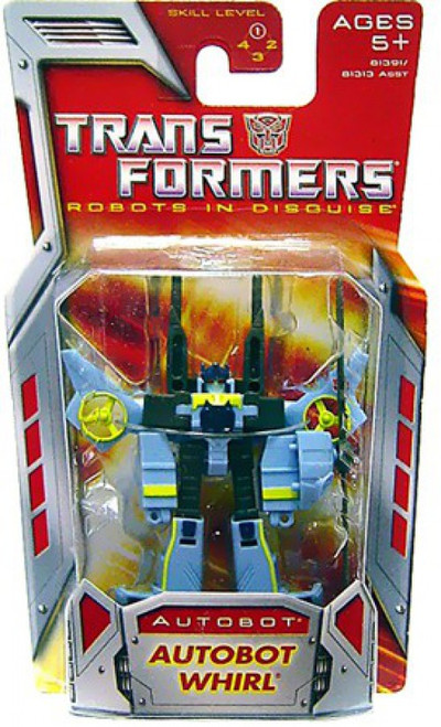 Transformers Robots in Disguise Classics Autobot Whirl Legend Action Figure