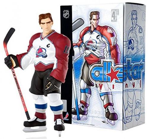 NHL Colorado Avalanche All Star Vinyl Joe Sakic Vinyl Figure [White Away Jersey]