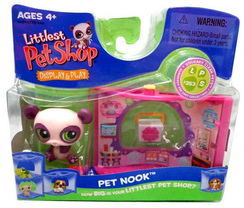 Littlest Pet Shop Pet Nook Series 2 Panda Figure [Chinese Take Out]
