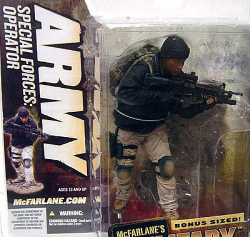 McFarlane Toys Military Series 5 Army Special Forces Special Operator Action Figure [Unmasked Variant]